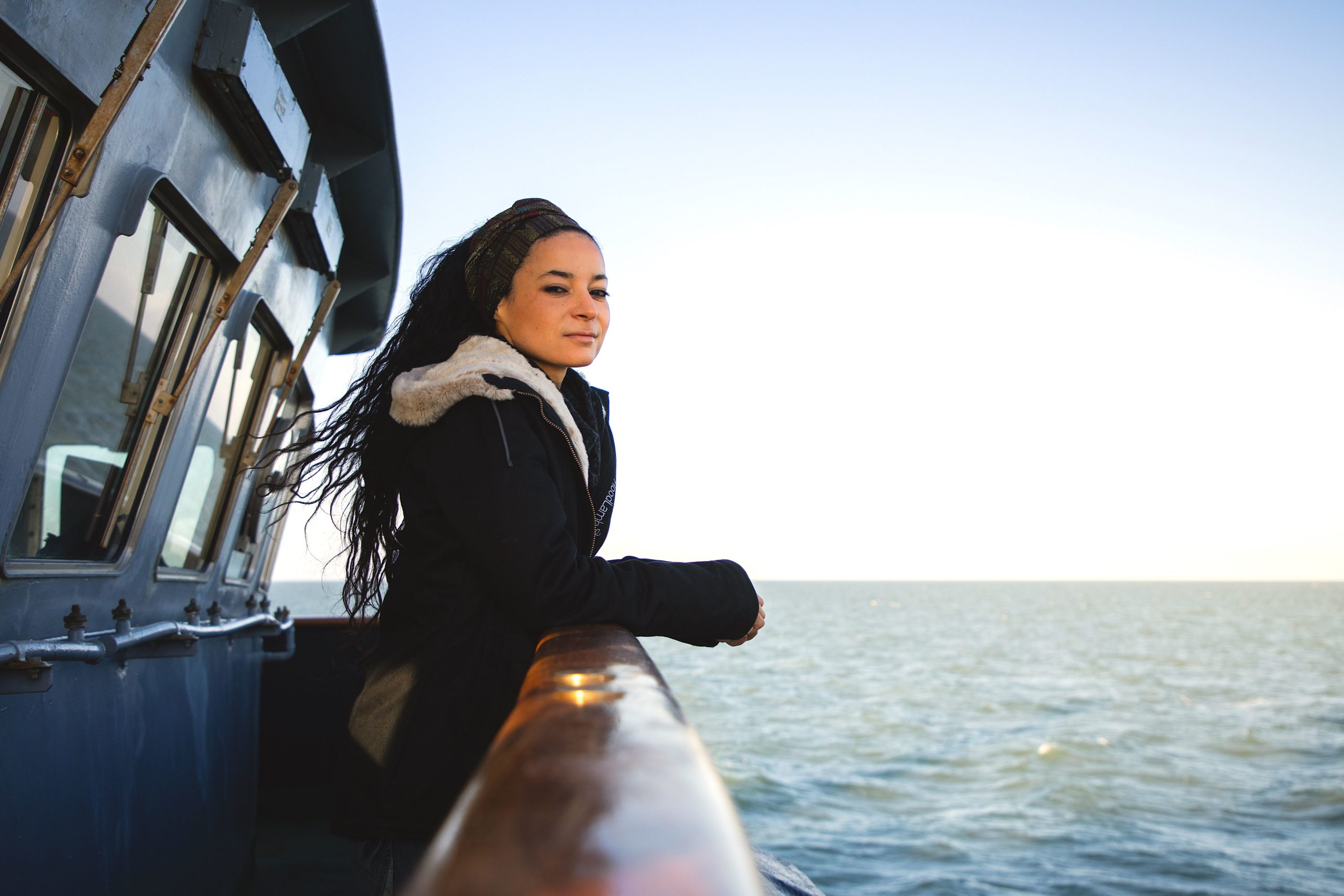 Lamya Essemlali, leader of Sea Shepherd France